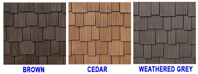 Best Inspire Synthetic Shake Roof Field Tiles 3 Size Specify 400 x 300