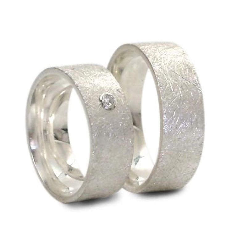 Partnerringe Eheringe Trauringe Verlobungsringe aus 925er Silber Paarpreis