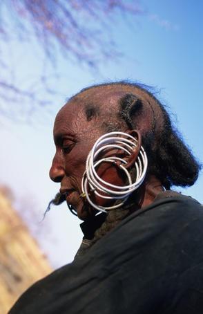Woman of Wodaabe Tribe. NIger.
