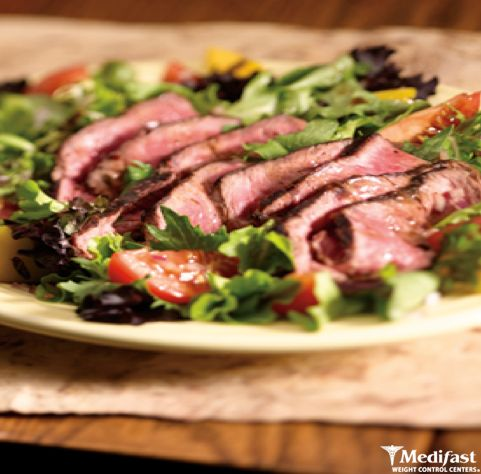 Get that grill out at least one more time! We have a new recipe on our blog for Grilled Steak and Vegetable Salad. This is simply savory. http://www.medifastmn.com/blog/recipe-grilled-steak-vegetable-salad/
