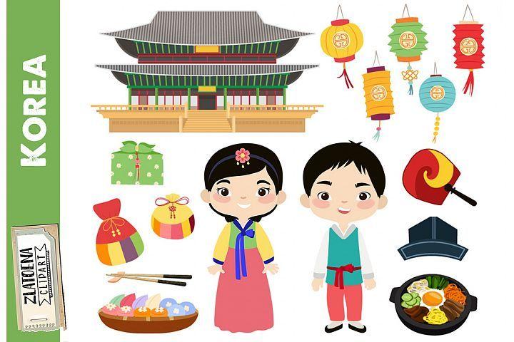 Korea Clipart Korean Digital Clip Art Korean Family Clipart 391880 Illustrations Design Bundles In 2021 Clip Art Digital Clip Art Digital Stamps