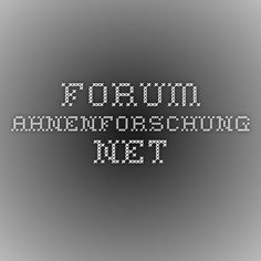 forum.ahnenforschung.net