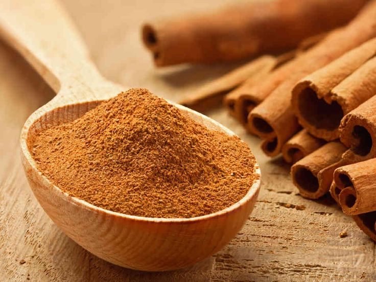 Spice up your weight loss with Cinnamon. It's a fabulous source of calcium, fibre, iron, manganese and helps with sugar cravings.