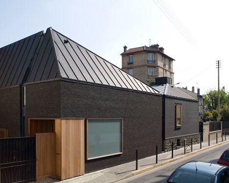 187 best Brick images on Pinterest Architecture, Architecture - calcul surface facade maison