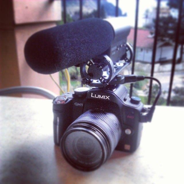 the video blogging equipment