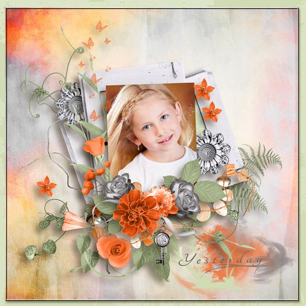 """""""Timeless Beauty"""" by Angelique's Scraps"""