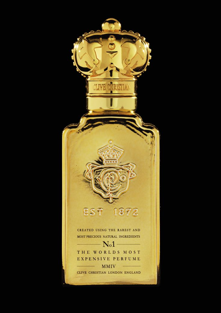 Clive Christian Number 1 Perfume for Men in Standard Bottle Available at Nordstrom's and Neiman Marcus