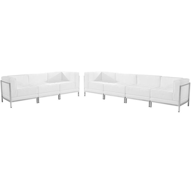 white leather sofas sofa set faux bonded sectional with light vanity modern contemporary