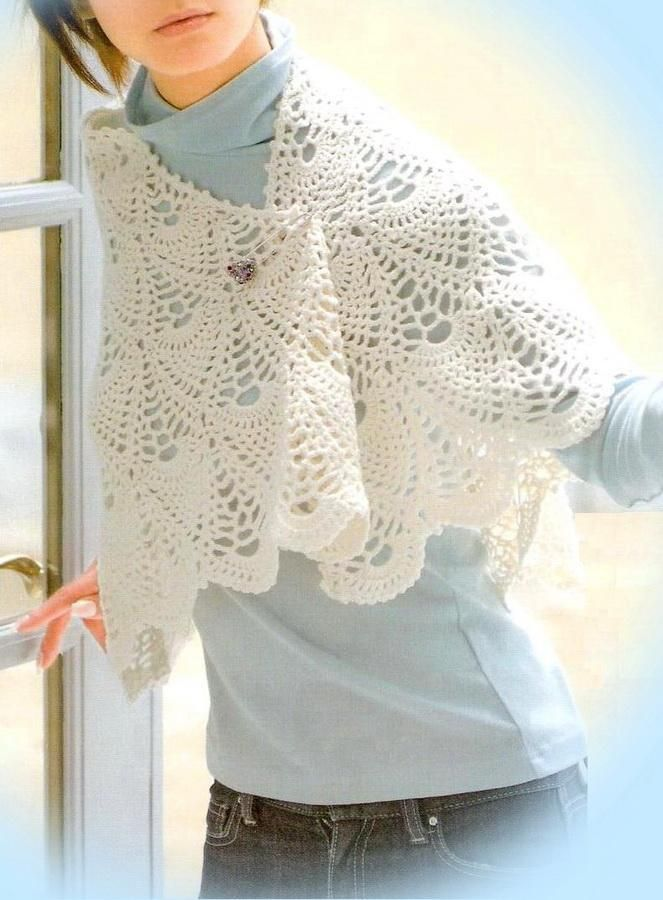 589 best Crochet Knit: Scarf Shawl Cowl Neckwarmer images on ...