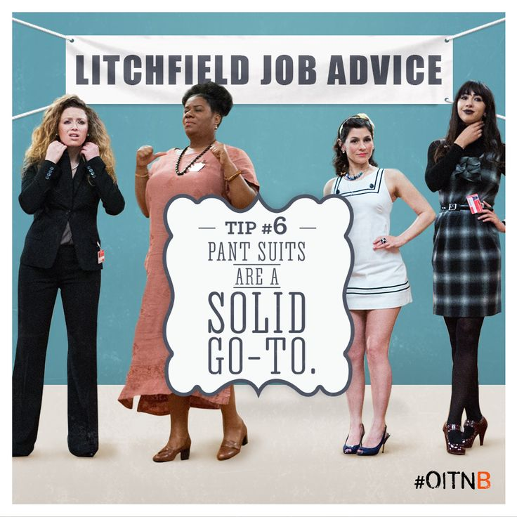 The definition of professionalism. #OITNB