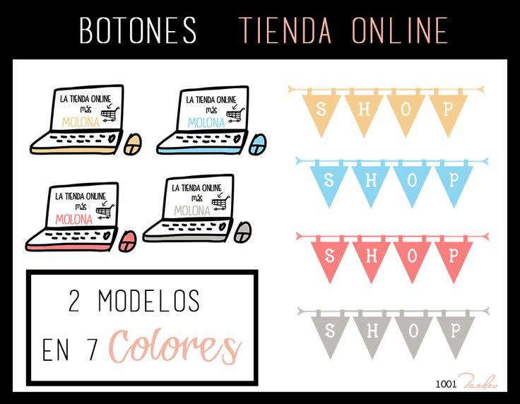 Botones Tienda Online