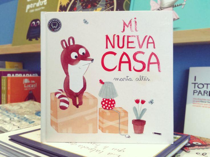 Mi nueva casa. Marta Altés. Blackie little books.