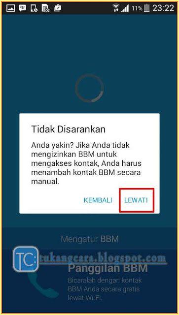 Cara Ganti Akun BBM Di Android