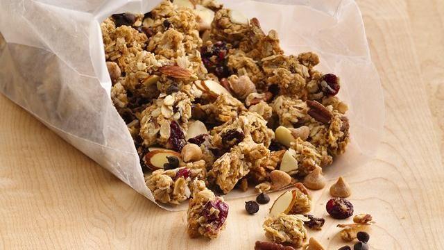 Peanut Butter Cookie Granola