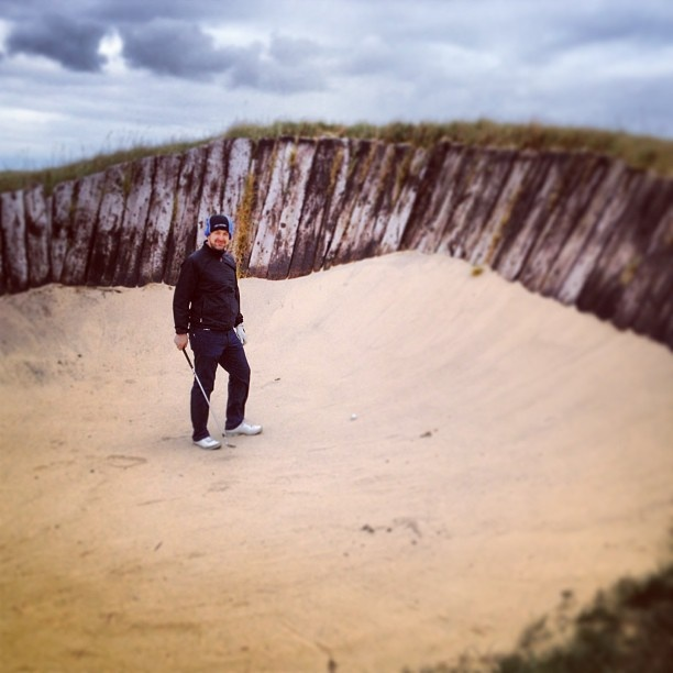 Big Sand Bunker at Prince's Golf Club - Dunes Course