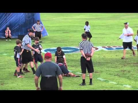 National Academy of Athletics Flag Football Camp - YouTube