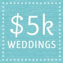 This site will allow you to choose your wedding budget, and will show you examples of weddings within your budget