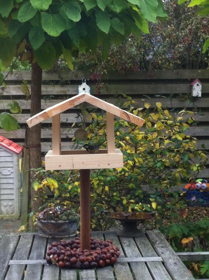 Vogelhuisje gemaakt door Xander.
