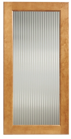 Reeded Glass Insert For Pantry Door And Mudcloset Sliders