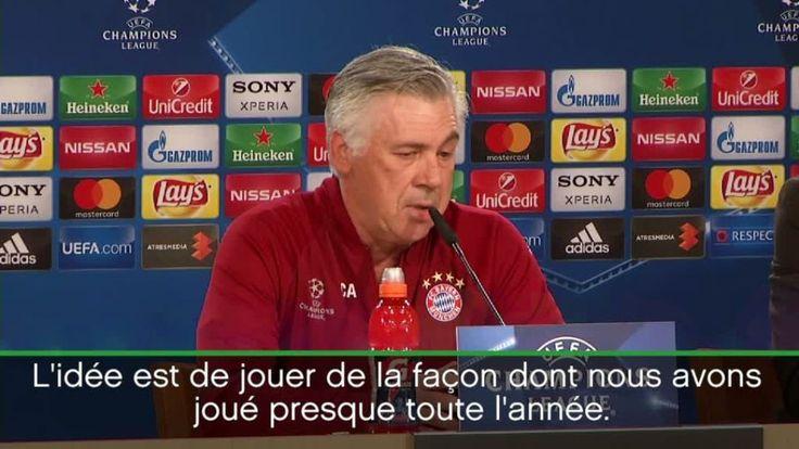 Foot - Ligue des Champions - Bayern                                              Foot                                                           Ligue des Champions                       ... http://www.lequipe.fr/Football/Actualites/Carlo-ancelotti-karim-benzema-est-en-grande-forme/794094#xtor=RSS-1