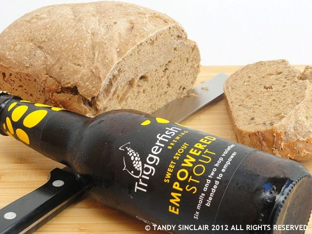 in my attempt to lose weight I have sworn off all beer! I have not yet sworn off bread however, and when I saw this recipe in my new recipe book I just had to give it a go. I mean, who can resist beer bread? And especially if you top it with some aged cheese.