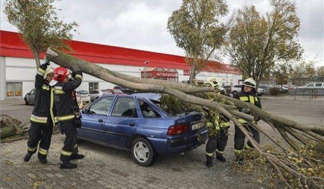 Több mint kétszáz, a viharral kapcsolatos bejelentés volt Bács-Kiskunban
