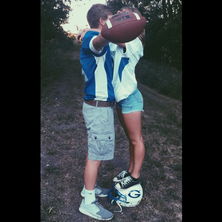 Football couple pic❤️