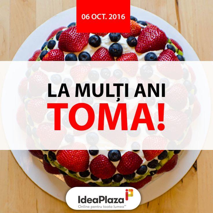 La multi ani #Toma!