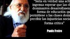(1) LA HISTORIA DE PABLO FREIRE ELIGE EDUCAR - YouTube