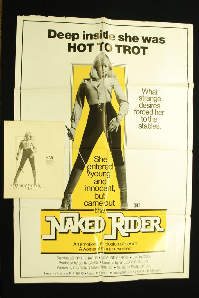 "Original 1972 Naked Rider Movie Poster + Media Kit - 27"" x 40"" Sexploitation | Entertainment Memorabilia, Movie Memorabilia, Posters | eBay!"