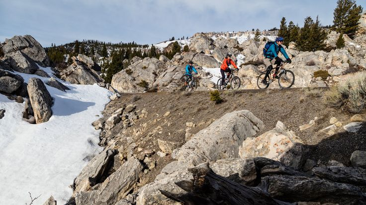 Yellowstone National Park is often overwhelmed by cars. But right now, only bicycles are allowed on some popular park roads. But bikers have to be ready to dodge bears, wolves and other wildlife.