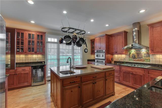 kitchen tile backsplash ideas with maple cabinets - Google ...