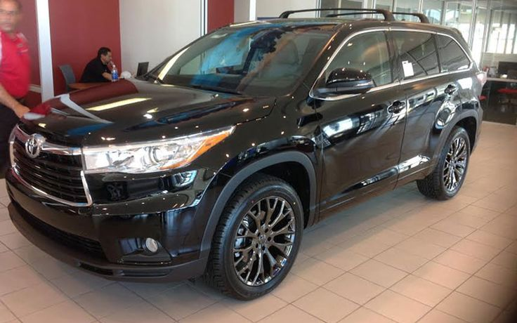 toyota highlander with vt383 wheels things that go voom pinterest toyota and wheels. Black Bedroom Furniture Sets. Home Design Ideas