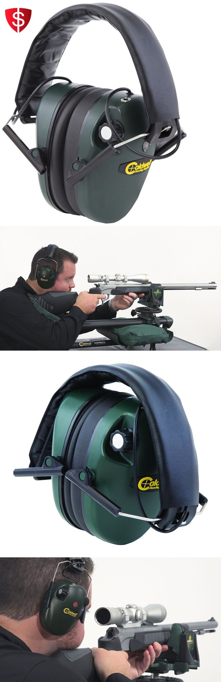 Hearing Protection 73942: Caldwell Electronic Ear Muffs Hearing Protection Impact Sport Earmuffs Shooting -> BUY IT NOW ONLY: $31.32 on eBay!