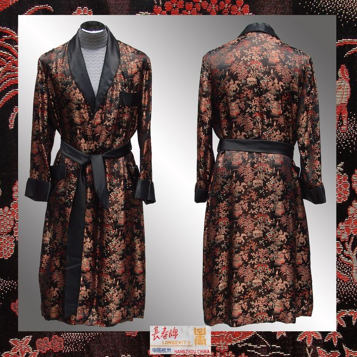 Antique Dressing Gown: 41 Best Images About Men's Dressing Robes/Jackets On