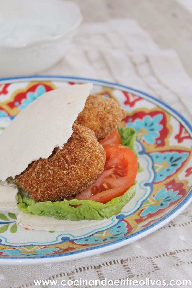 """Hoy os traigo una receta deliciosa, el falafel , se trata de una especie de """"croqueta"""" hecha con garbanzos crudos y especias, tradiciona..."""