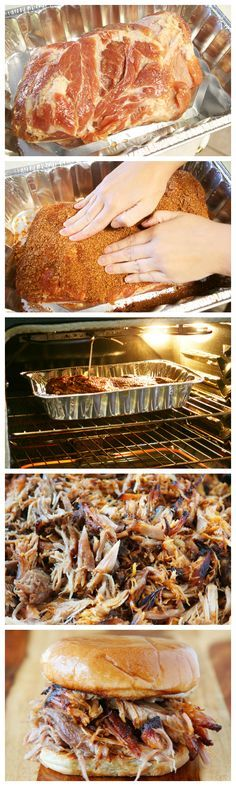 How to make authentic southern, slow roasted, dry rubbed, pulled pork.