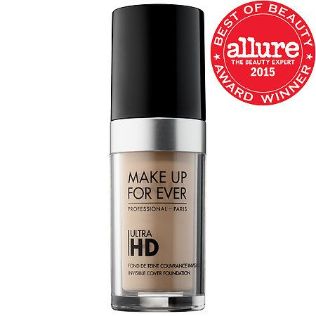Makeup Forever's Ultra HD Invisible Cover Foundation    *2015 Allure Best of Beauty Winner*