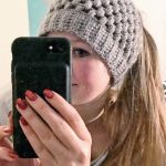 Crochet ponytail hat pattern free
