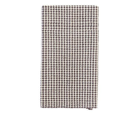 Tappetino bagno in cotone Grata grigio - 90x50 cm