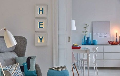 DIY: Beleuchtete Wandbilder - Basteln - DAS HAUS