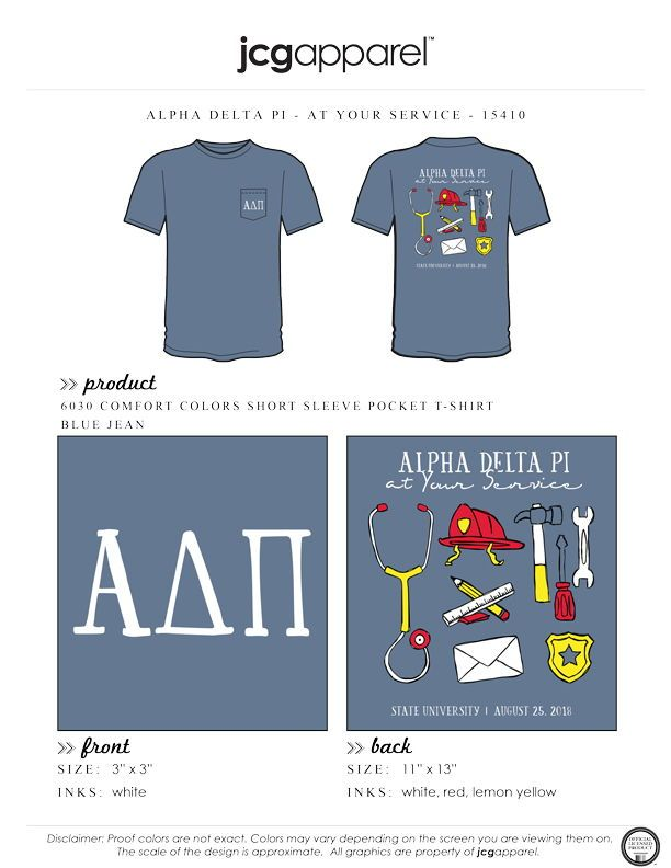 Alpha Delta Pi At Your Service Shirt Sorority Greek Alphadeltapi Adpi Adp Atyourservice Philanthropy