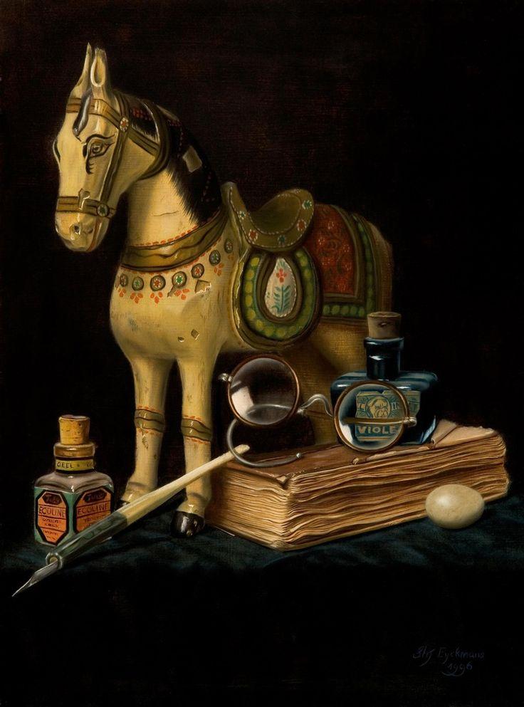 Gallery II - Stefaan Eyckmans   Still life paintings