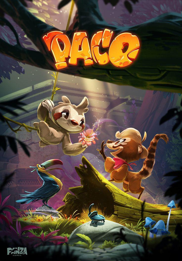 Paco the game , Vukasin Bagic on ArtStation at https://www.artstation.com/artwork/nLQ5X