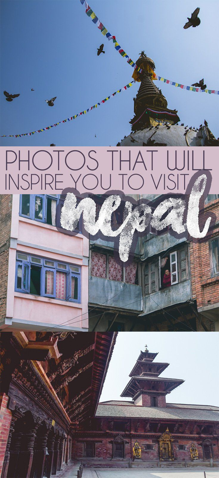 Photos that will make you want to go to Nepal. From gorgeous UNESCO sites to breathtaking Himalayan mountains - the beauty is everywhere.