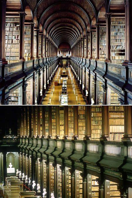 Ирландия, Дублин - Trinity College LIbrary, AKA, The Long Room