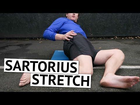 Sartorius Stretch for Runners [Ep25] - YouTube