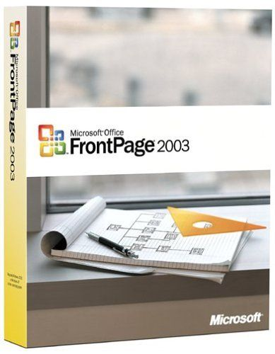 Microsoft FrontPage 2003  http://www.bestcheapsoftware.com/microsoft-frontpage-2003/