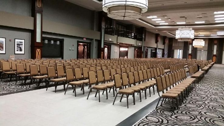 Theatre-Style for 700 in the Grand Ballroom