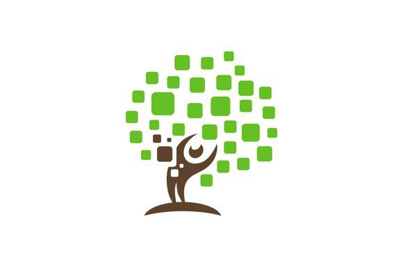 Human Tree Logo by Logo on Creative Market